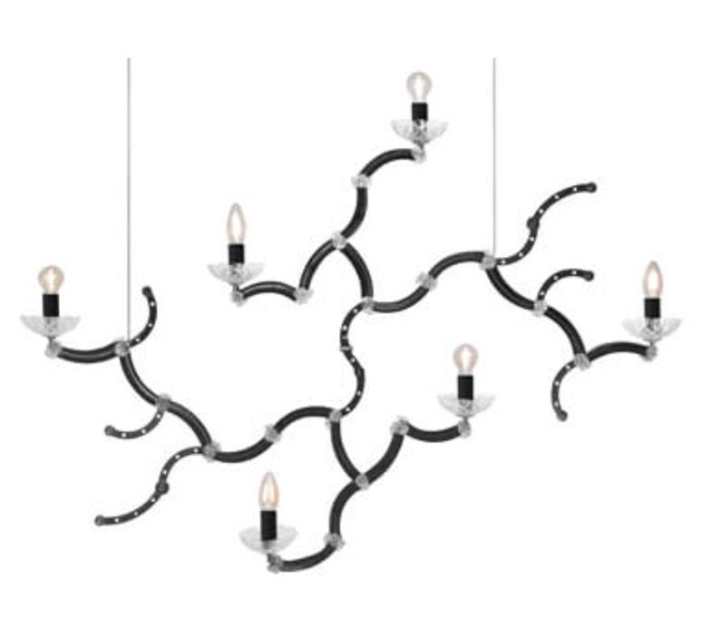 Ghebo luca de bona et dario de meo lustre chandelier  karman ghebo se146 1n int  design signed 37753 product