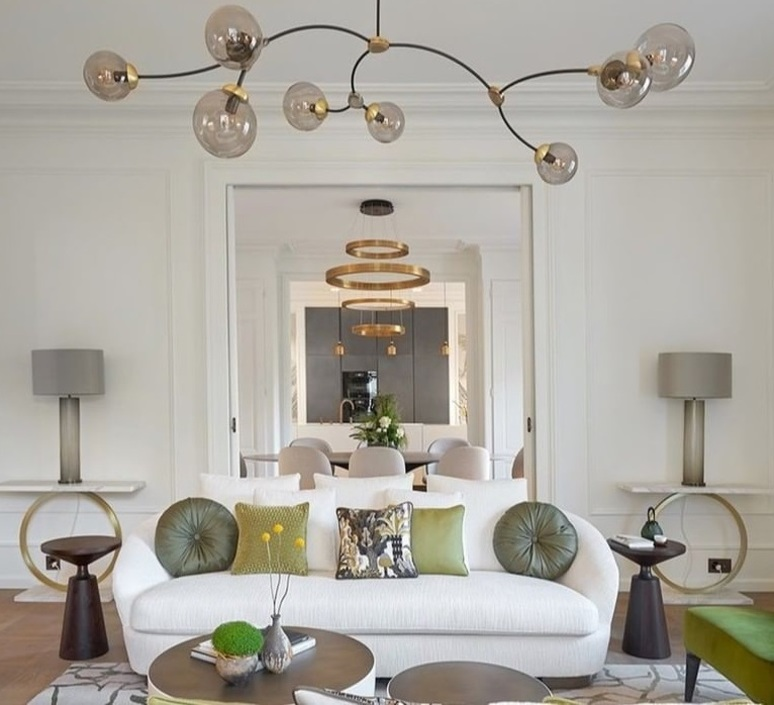 Ivy horizontal 3 chris et clare turner lustre chandelier  cto lighting cto 01 096 0201  design signed 106854 product