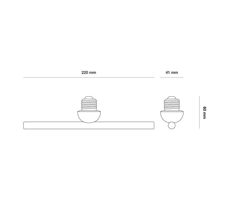 Linear 3  lustre chandelier  beem base linear 1287646  design signed nedgis 83369 product