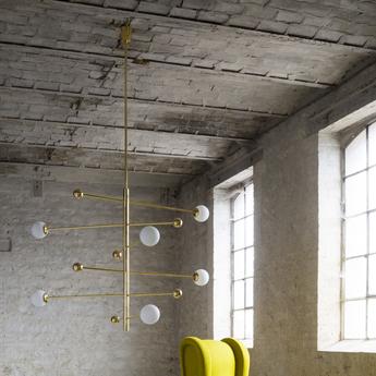 Lustre lustre 08 version 1 laiton l156cm h160cm magic circus editions normal