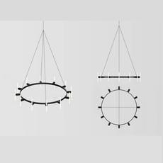 Lustre rond samuel wilkinson lustre chandelier  base lustre rond  design signed nedgis 83358 thumb