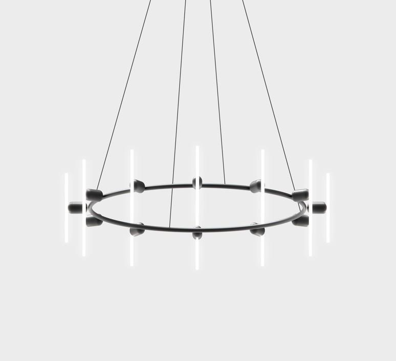 Lustre rond samuel wilkinson lustre chandelier  base lustre rond  design signed nedgis 83359 product
