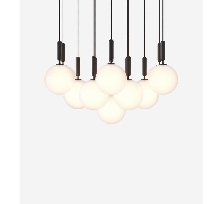 Miira 13 large sofie refer lustre chandelier  nuura 03630224  design signed nedgis 89511 product
