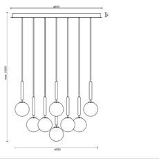 Miira 13 sofie refer lustre chandelier  nuura 03130224  design signed nedgis 89505 thumb