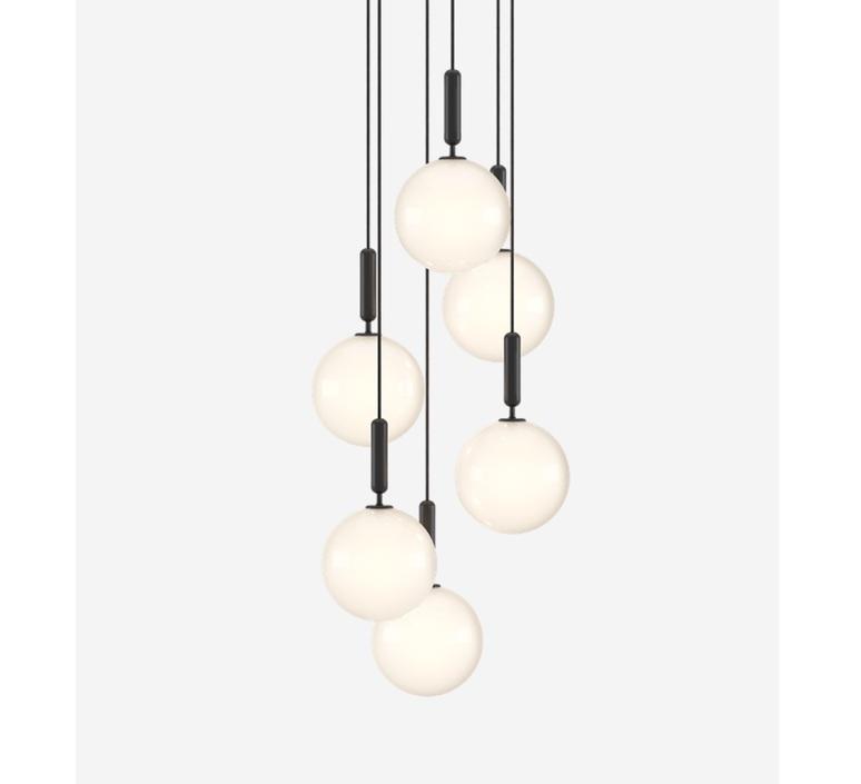 Miira 6 large sofie refer lustre chandelier  nuura 03620224  design signed nedgis 89493 product