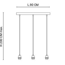 Mini singapour studio market set lustre chandelier  market set 653668 653662 653666 592635  design signed nedgis 76118 thumb