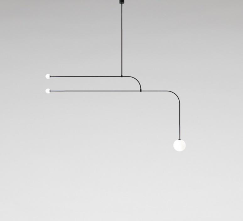 Mobile chandelier 12 michael anastassiades lustre chandelier  anastassiades ma mc12b  design signed 39662 product