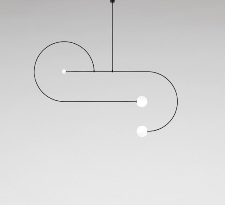 Mobile chandelier 13 michael anastassiades lustre chandelier  anastassiades ma mc13b  design signed 39664 product