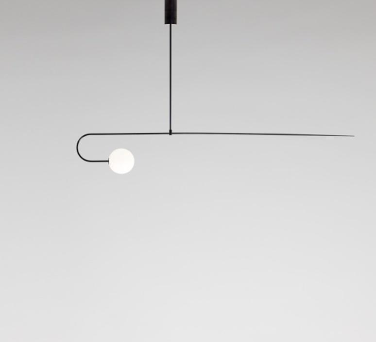 Mobile chandelier 8 michael anastassiades lustre chandelier  anastassiades ma mc8b  design signed 39656 product
