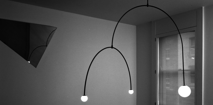 Lustre mobile chandelier 9 noir l145 5cm h110 3cm anastassiades studio normal