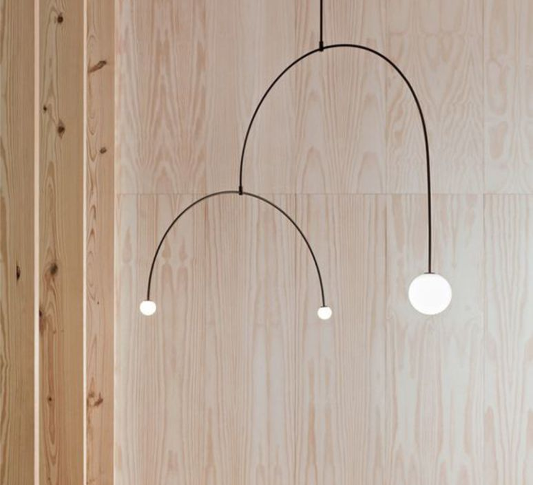 Mobile chandelier 9 michael anastassiades lustre chandelier  anastassiades ma mc9b  design signed 39659 product