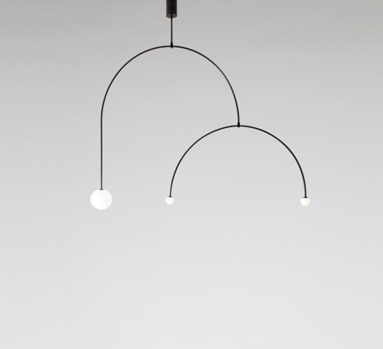 Mobile chandelier 9 michael anastassiades lustre chandelier  anastassiades ma mc9b  design signed 39660 product