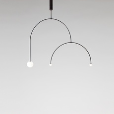Mobile chandelier 9 michael anastassiades lustre chandelier  anastassiades ma mc9b  design signed 39660 thumb