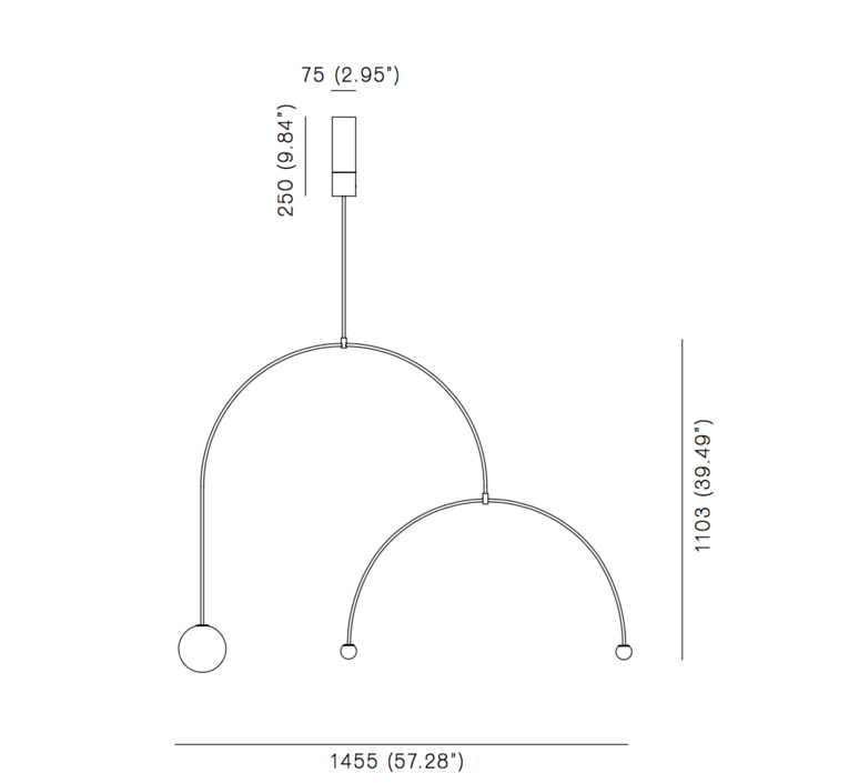 Mobile chandelier 9 michael anastassiades lustre chandelier  anastassiades ma mc9b  design signed 39661 product
