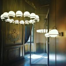 Model 2109 16 14 gino sarfatti lustre chandelier  astep t08 s31 sgd0  design signed nedgis 78878 thumb