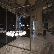 Model 2109 16 14 gino sarfatti lustre chandelier  astep t08 s31 sgd0  design signed nedgis 78879 thumb