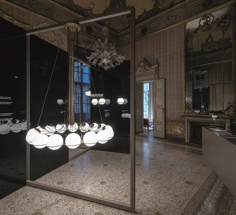 Model 2109 16 20 gino sarfatti lustre chandelier  astep t08 s21 mgd0  design signed nedgis 78888 product