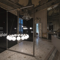 Model 2109 16 20 gino sarfatti lustre chandelier  astep t08 s21 mgd0  design signed nedgis 78888 thumb