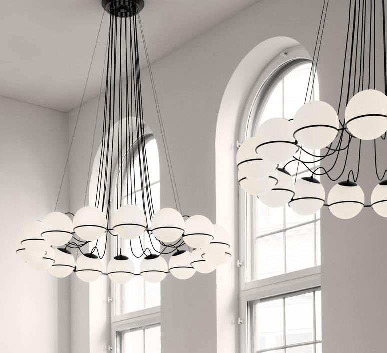 Model 2109 16 20 gino sarfatti lustre chandelier  astep t08 s21 mgb0  design signed nedgis 78881 product
