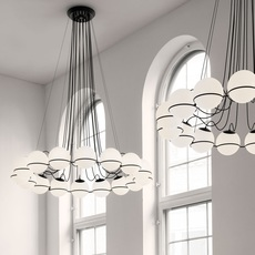 Model 2109 16 20 gino sarfatti lustre chandelier  astep t08 s21 mgb0  design signed nedgis 78881 thumb
