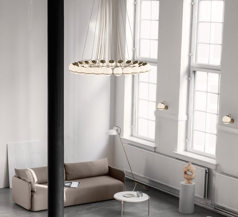 Model 2109 24 14 gino sarfatti lustre chandelier  astep t08 s31 sod0  design signed nedgis 78893 product