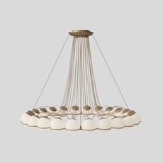 Model 2109 24 14 gino sarfatti lustre chandelier  astep t08 s31 sod0  design signed nedgis 78895 thumb