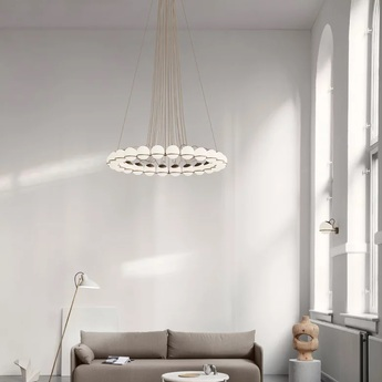 Lustre model 2109 24 14 champagne o134cm h160cm astep normal