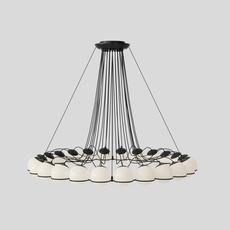 Model 2109 24 14 gino sarfatti lustre chandelier  astep t08 s31 sob0  design signed nedgis 78890 thumb