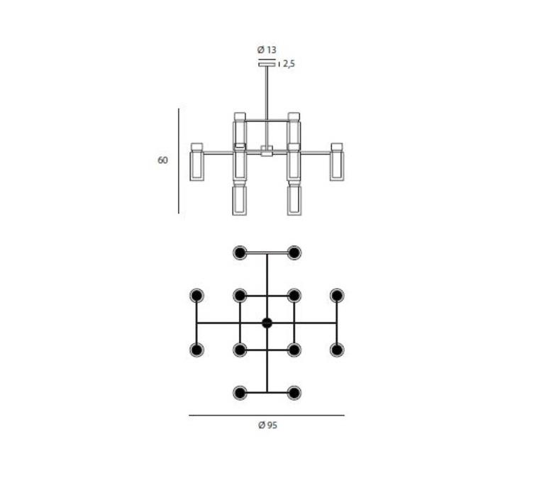 Nabila 552 10 corrado dotti suspension pendant light  tooy nabila 552 10  design signed nedgis 84573 product