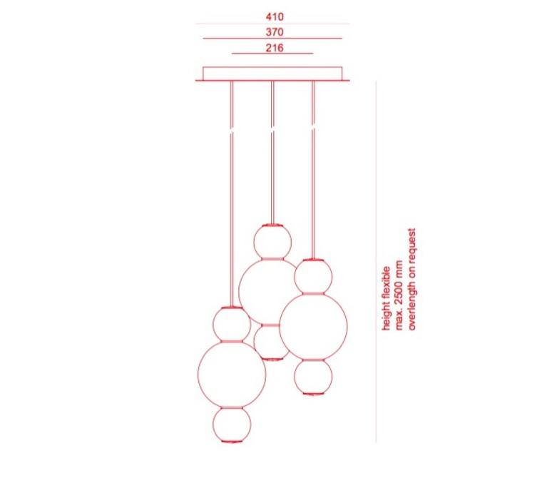 Pearls  benjamin hopf formagenda pearls aad 210 m3 luminaire lighting design signed 21093 product