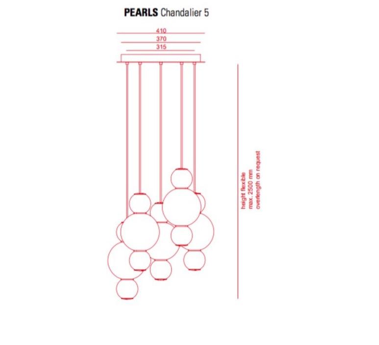 Pearls  benjamin hopf formagenda pearls bbbbb 210 m5 luminaire lighting design signed 21036 product