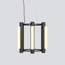 Pipeline chandelier 1 caine heintzman lustre chandelier  andlight pip cha 1 p bk 27 elv 120  design signed nedgis 114735 thumb