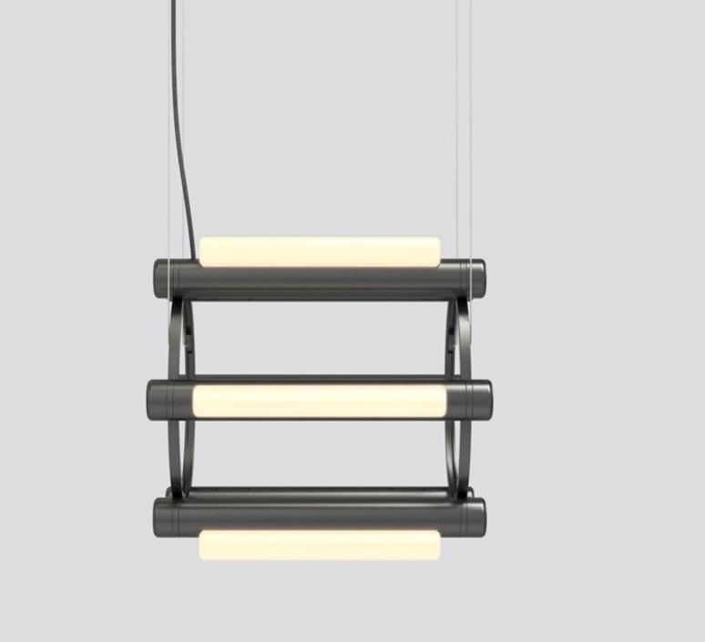 Pipeline chandelier 1 caine heintzman lustre chandelier  andlight pip cha 1 p bk 27 elv 120  design signed nedgis 114736 product