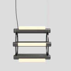 Pipeline chandelier 1 caine heintzman lustre chandelier  andlight pip cha 1 p bk 27 elv 120  design signed nedgis 114736 thumb
