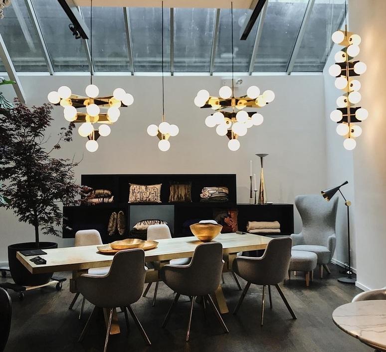 Plane tom dixon lustre chandelier  tom dixon sll03abeu  design signed nedgis 104138 product
