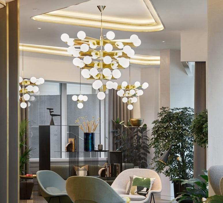 Plane tom dixon lustre chandelier  tom dixon sll03abeu  design signed nedgis 104139 product