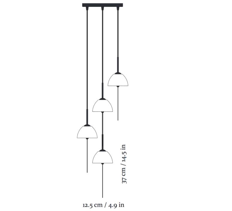 Seasalts pendant nir meiri lustre chandelier  nir meiri seasalts pendantmatt  design signed 56801 product