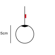 Spheremaker 1 sphere alex bergman lustre chandelier  fatboy 100295  design signed 59159 thumb