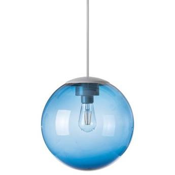 Lustre spheremaker 1 sphere bleu led o25cm h25cm fatboy normal