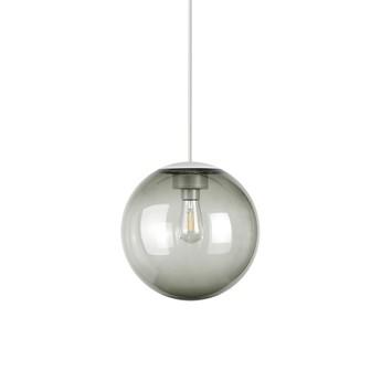 Lustre spheremaker 1 sphere gris led o25cm h25cm fatboy normal