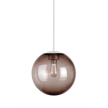 Lustre spheremaker 1 sphere marron led o25cm h25cm fatboy normal