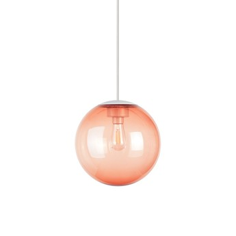 Lustre spheremaker 1 sphere orange led o25cm h25cm fatboy normal