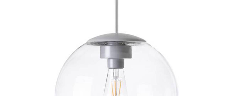 Lustre spheremaker 1 sphere transparent led o25cm h25cm fatboy normal
