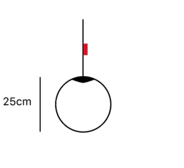 Spheremaker 1 sphere alex bergman lustre chandelier  fatboy 100293  design signed 59175 product