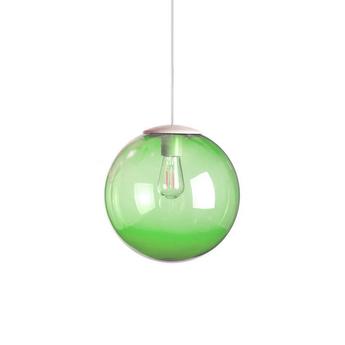 Lustre spheremaker 1 sphere vert led o25cm h25cm fatboy normal