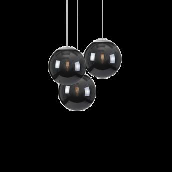 Lustre spheremaker 3 spheres noir led o50cm h25 a 50cm fatboy normal
