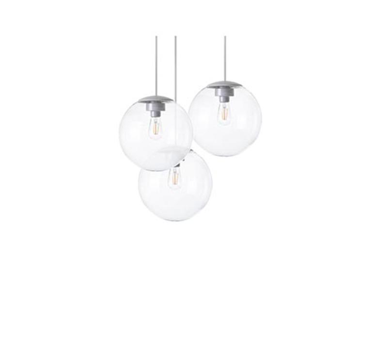 Spheremaker 3 spheres alex bergman lustre chandelier  fatboy 100012  design signed 59196 product