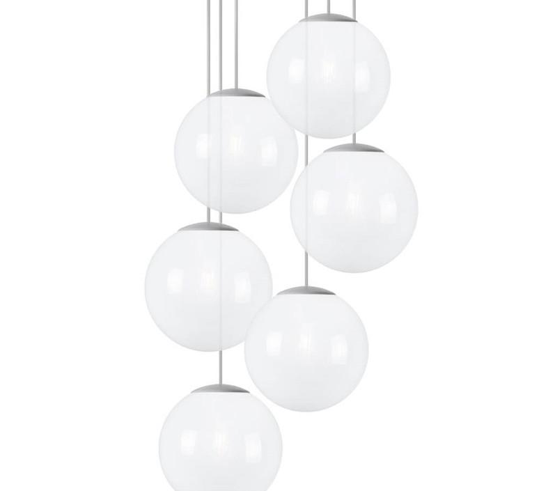 Spheremaker 6 spheres alex bergman lustre chandelier  fatboy 100080  design signed 59224 product