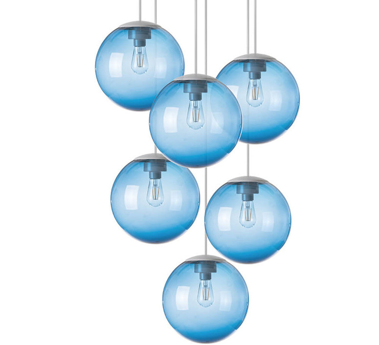 Spheremaker 6 spheres alex bergman lustre chandelier  fatboy 100078  design signed 59222 product