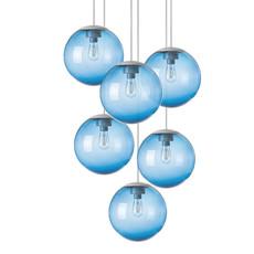 Spheremaker 6 spheres alex bergman lustre chandelier  fatboy 100078  design signed 59222 thumb